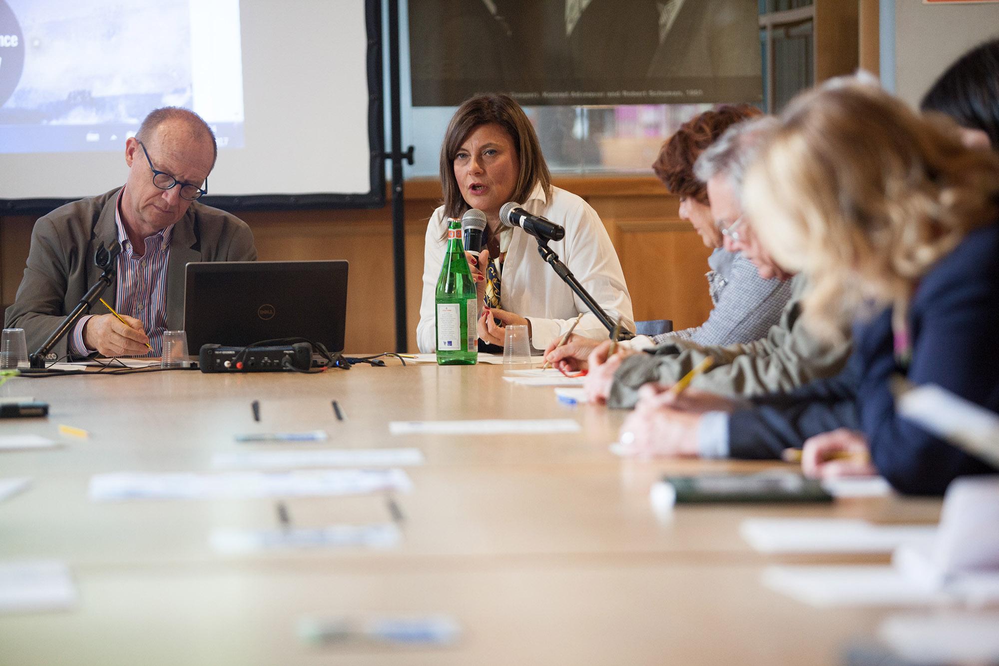 2017-05-11 Gli Archivi e la Public History - Conversation with Serge Noiret 07